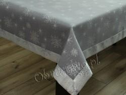 Obrusy świąteczne śnieżynki...